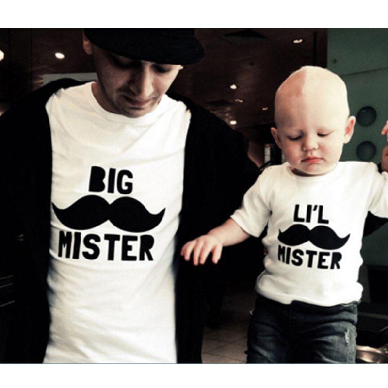 COPY /& PASTE-mère /& fils ou fille assorti T-shirt /& Baby Grow Set