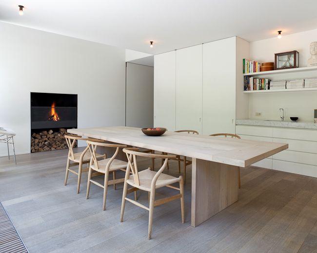 Tim Van De Velde Photography Lpr House Minimalist Dining Room Dining Room Design Dining Room Inspiration