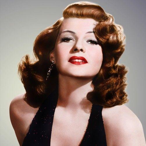 Rita Hayworth - Una de las actrices más emblemáticas de la época dorada del cine estadounidense. Padre español *