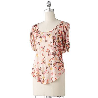 Lc Lauren Conrad Butterfly Top At Kohls 3 Butterfly Fashion Fashion Original Fashion
