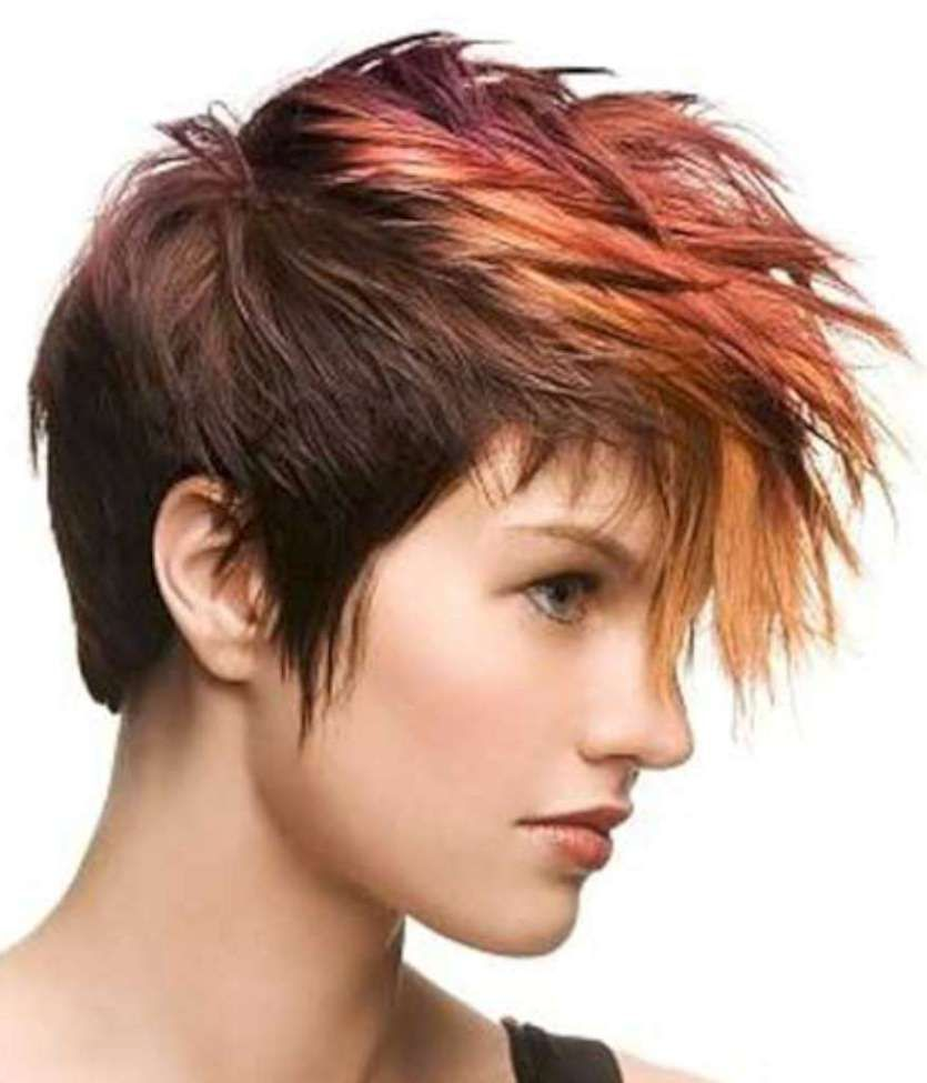 Short Hairstyles And Colors 9 Pixieshort Hair Pinterest