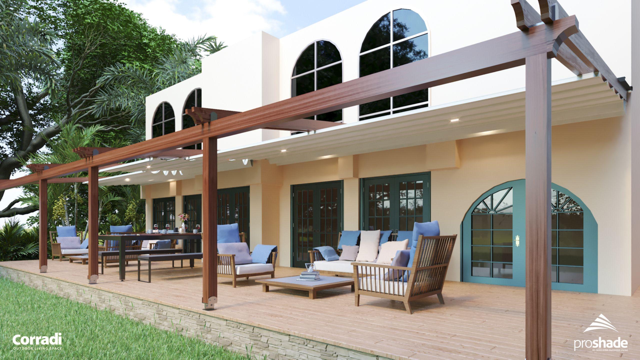 Corradi Arko retractable roof   Outdoor living on Corradi Outdoor Living id=83086