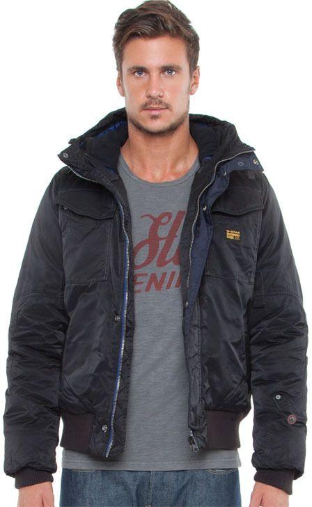 G Star MFD Hooded Bomber Jacket | Hooded bomber jacket