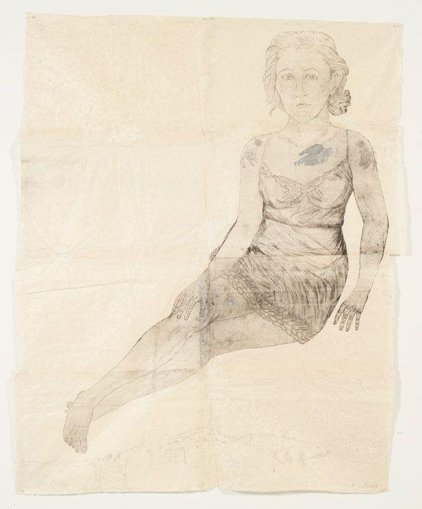 Silver Bird by Kiki Smith, 2006, via Drawings & Notes