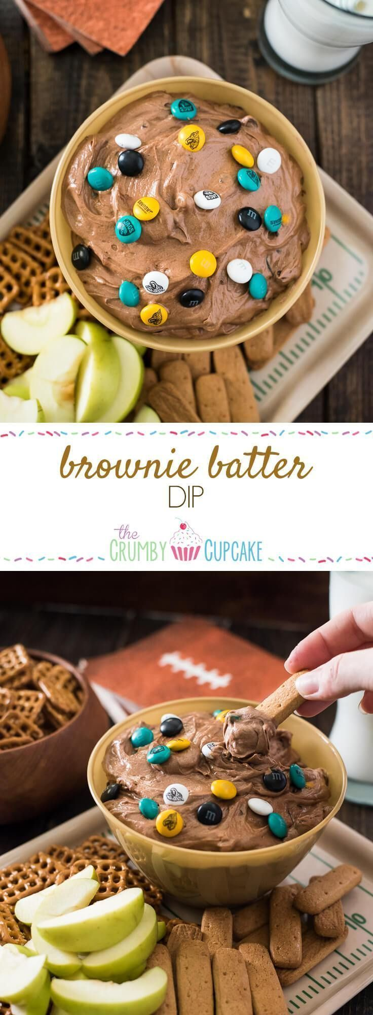 Brownie Batter Dip + 63 Game Day Recipes!