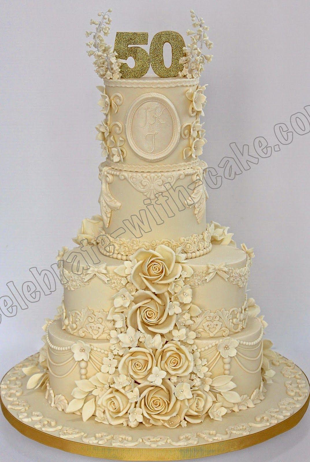 Celebrate with Cake! | tortas boda de oro | Pinterest | Cake and Cup ...