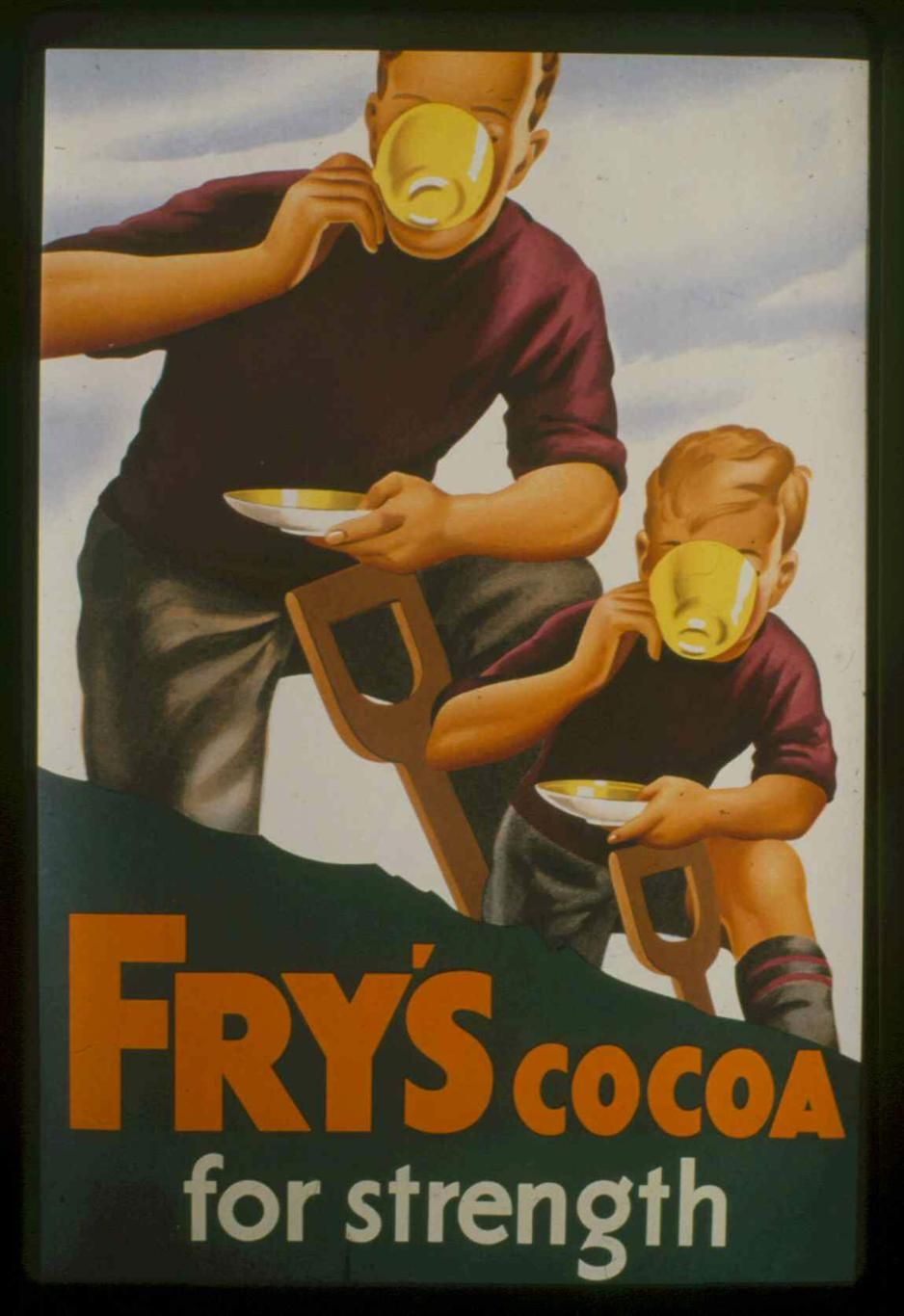 Fry's cocoa for strength - 1935 -