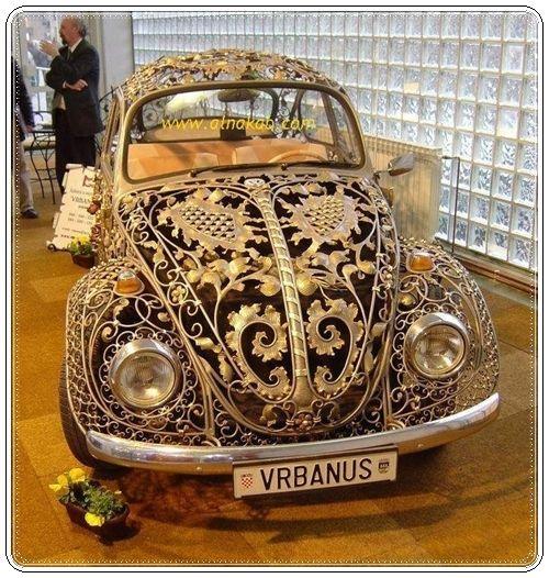 سيارات مصنوعة من ذهب Vw Beetles Steampunk Beetle