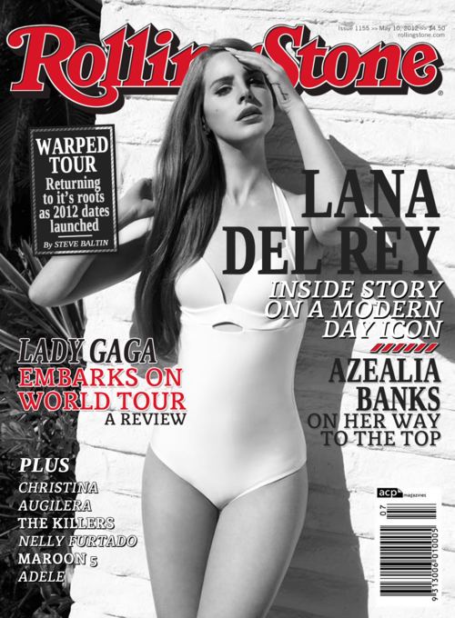 Lana Del Rey on Rolling Stone magazine cover. Find more beautiful pictures on: http://bit.ly/xQ3B1F