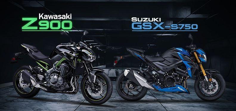 Kawasaki Z900 Vs Suzuki GSX S750