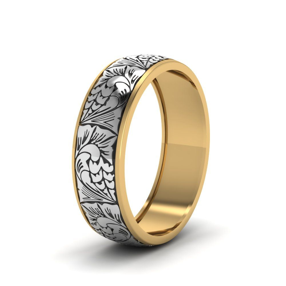 21++ Yellow gold wedding bands for him ideas in 2021