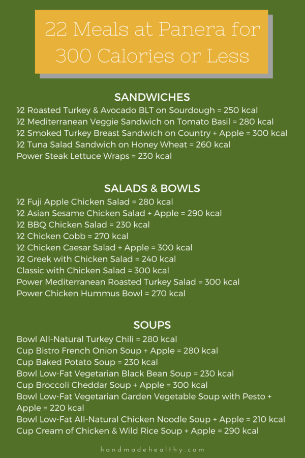 Panera Boxed Lunch Menu Pdf Download