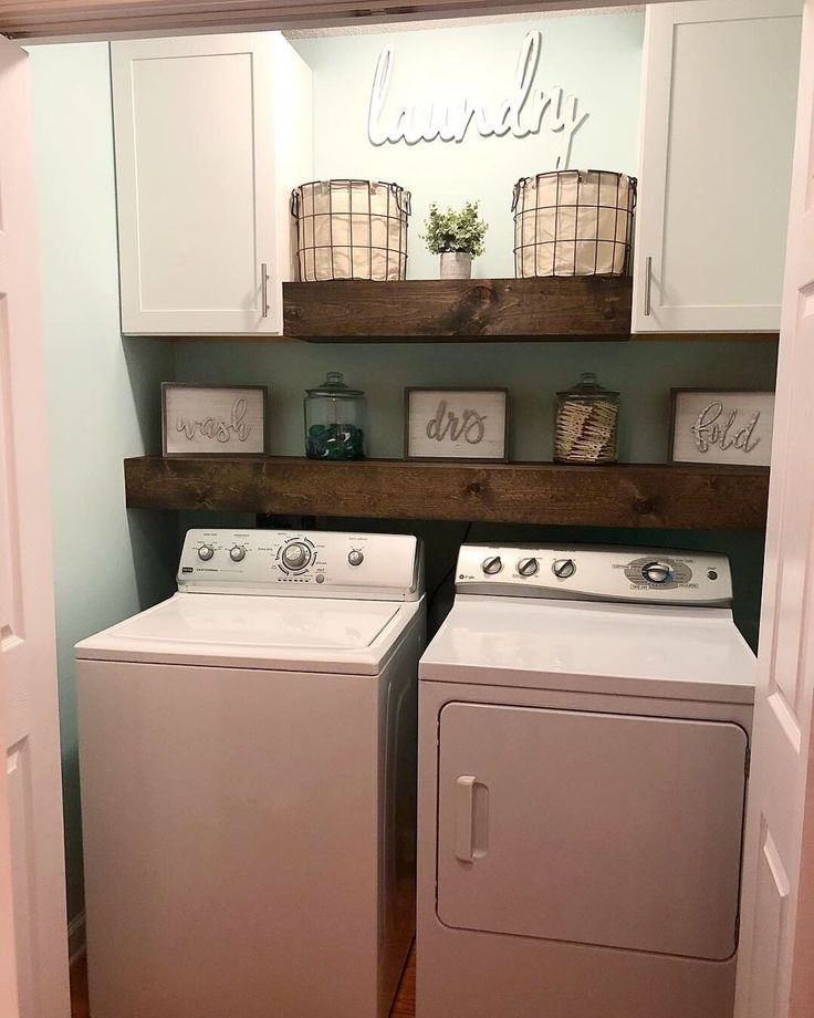 Photo of Modern Farmhouse Laundry Room – Cherished Bliss