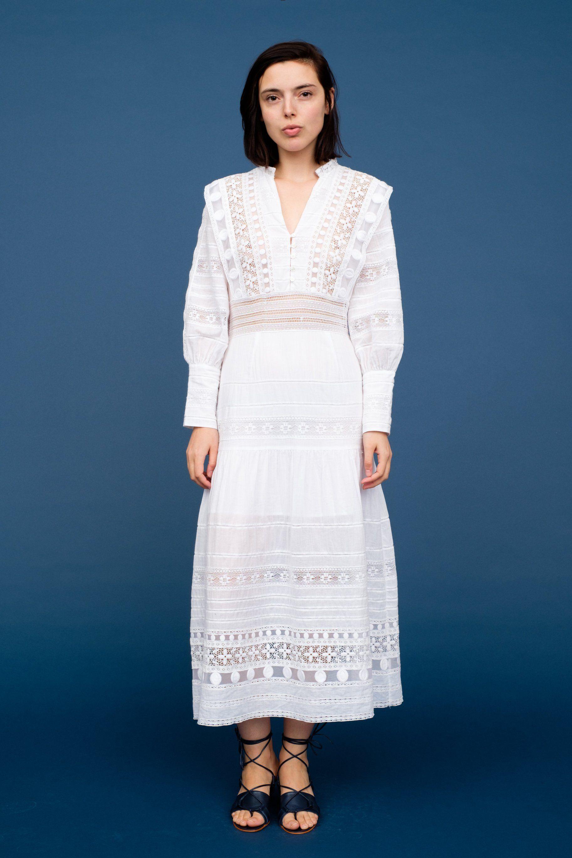 Ila Lace Maxi Dress Sea New York