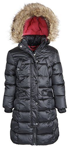 Steve Madden Big Girl Down Alternative Winter Puffer Coat with Removable Hood  http://www.yearofstyle.com/steve-madden-big-girl-down-alternative-winter-puffer-coat-with-removable-hood/