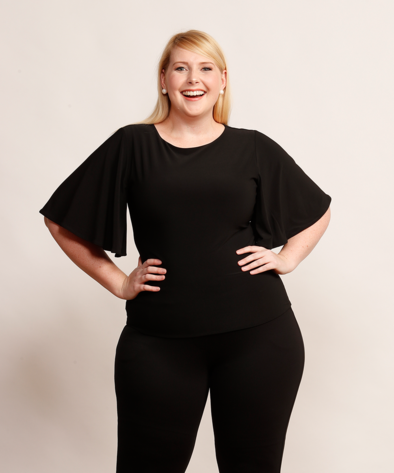Chloe top | Womens separates, Plus size fashion, Cool outfits
