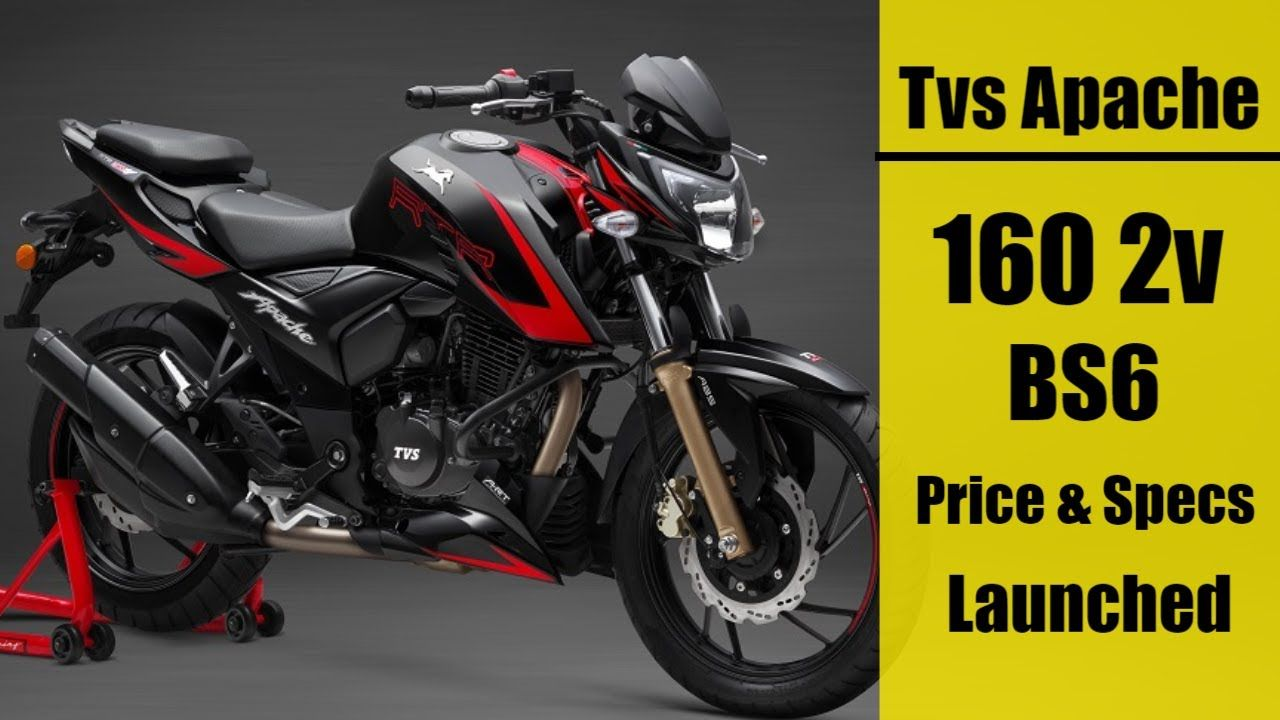 Tvs Apache Rtr 160 2v Bs6 Price And Features In 2020 In 2020 Rtr