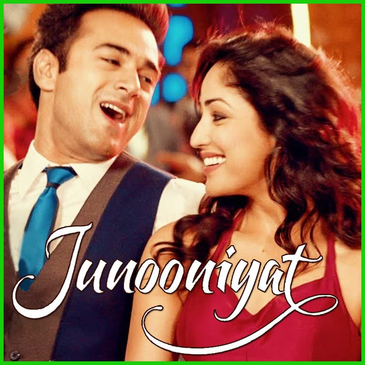 Nachange Saari Raat Video Karaoke With Lyrics Junooniyat Video Karaoke Karaoke Karaoke Songs Bollywood Celebrities