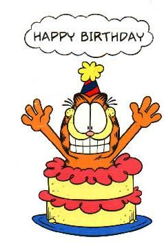 Garfield Birthday Cards Pictures