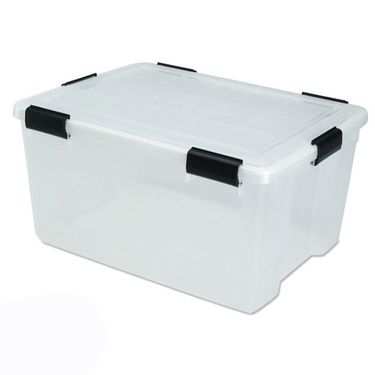 Large Airtight Storage Containers 62 Qt Iris Watertight Storage Box Plastic Storage Bins Large Storage Containers Plastic Container Storage
