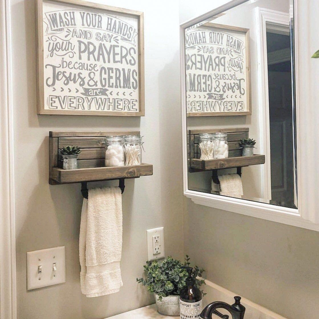Small Hand Towel Holder Rack