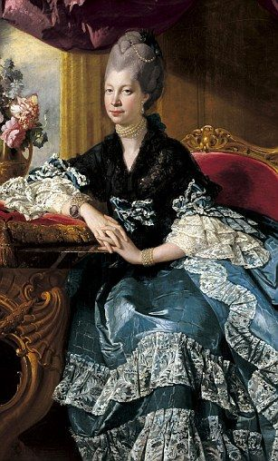 Queen Charlotte, the wife of George III