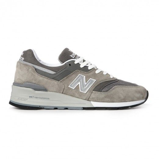New Balance Made In The Usa M997Gy Og M997GY Sneakers — Running Shoes at CrookedTongues.com