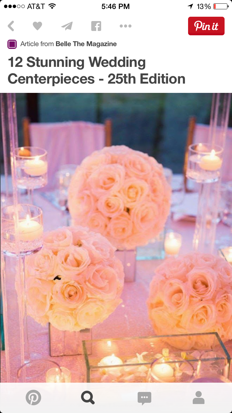 I know these are tighter balls of roses, but I love the look. They are glowing, light, airy and romantic.