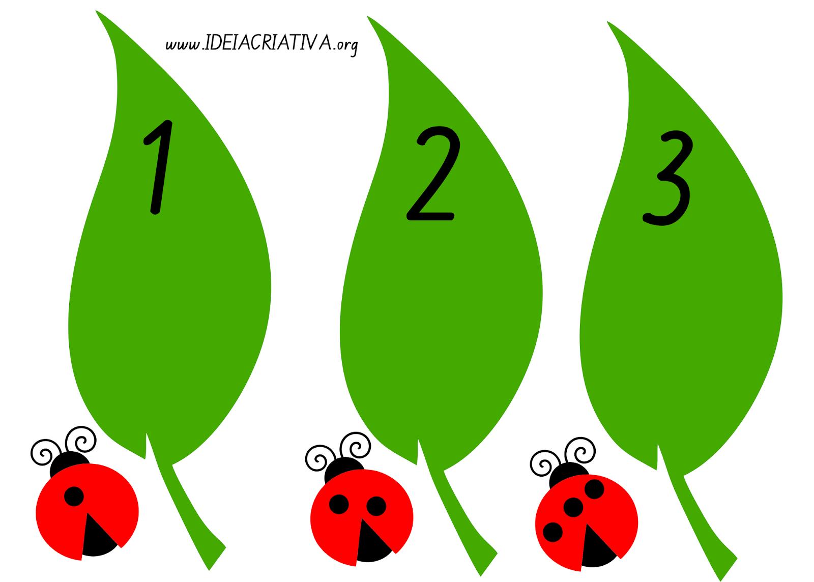 Flash Cards Joaninhas Número e Quantidade   Matematika   Pinterest ...