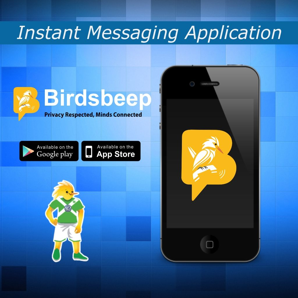 BirdsBeep -  Instant Mobile Chat Application - Download Now