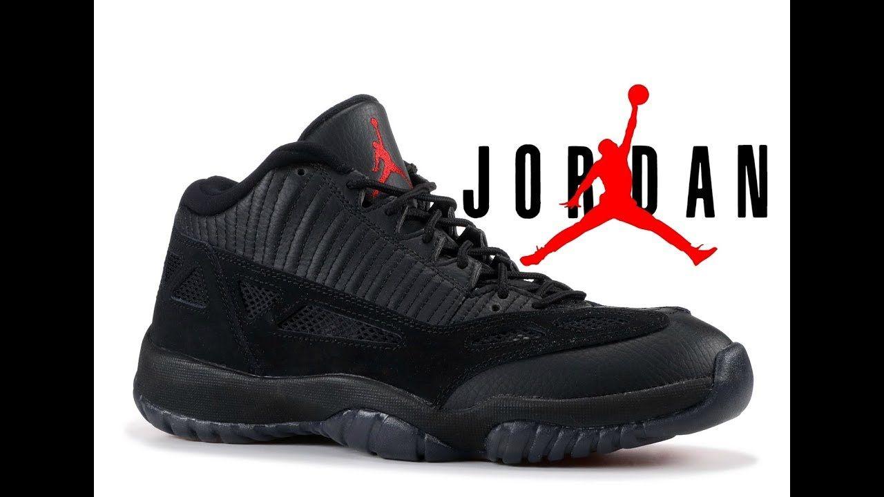 check out 35ae9 63bb2 Air Jordan 11 Retro Low Referee Mens 306008 003 Black