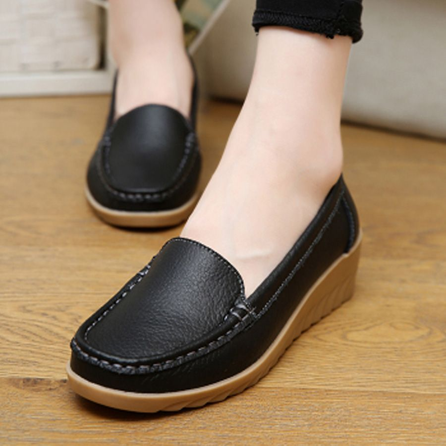 Best Mom Ever Men's Anti-Slip Shoes Fashion Walking Loafers