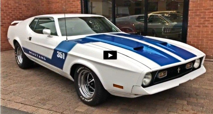Gorgeous Award Winning 1972 Ford Mustang Mach 1 Carros Clasicos Autos Y Coches