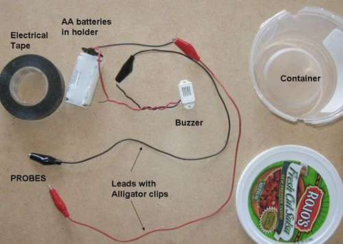 How does electricity flow through a household lamp in the for Simple wiring projects