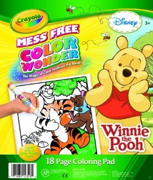 crayola color wonder winnie the pooh coloring pad by crayola 1299 can be used - Color Wonder Books