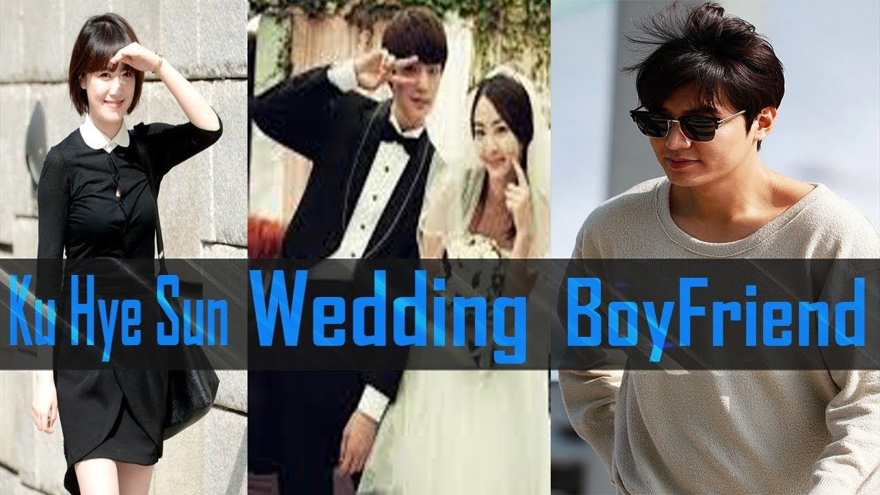 Ku Hye Sun S Was Boyfriend Lee Min Ho Wedding Ahn Jae Hyun And