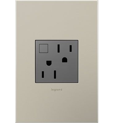 Adorn By Legrand Energy Saving Outlet With Designer Finish Wallplate Green Energy Save Energy Home Cooler