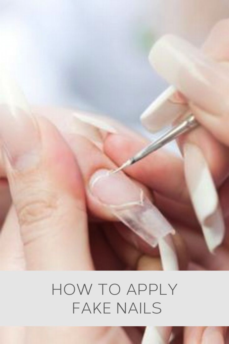 How To Apply Fake Nails Howto Helpful Useful Tips Advice