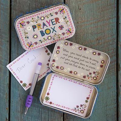 Flower Prayer Box