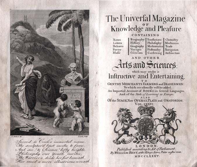 Universal magazine of knowledge and pleasure