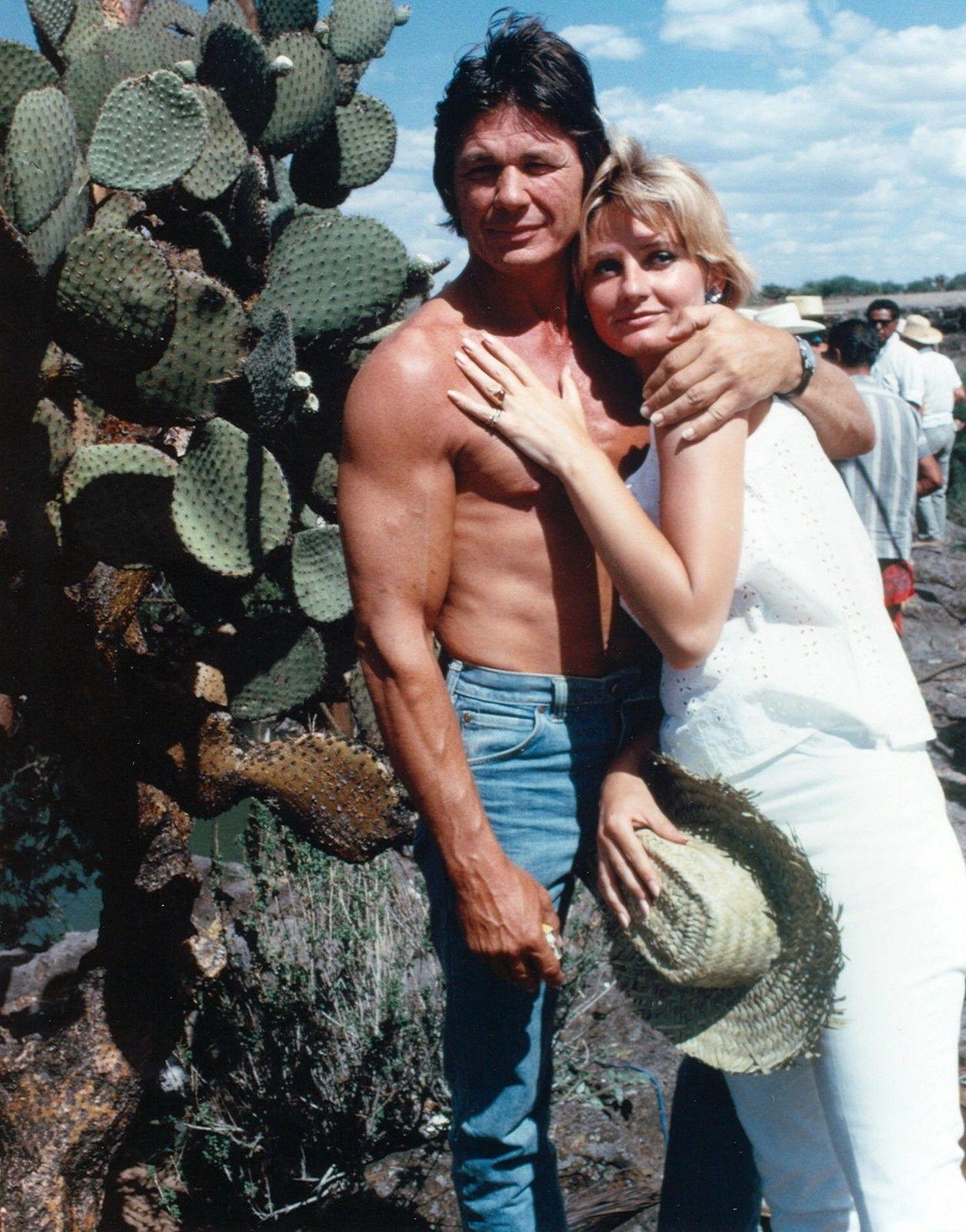 Charles Bronson And His Wife Jill Ireland Charles Bronson