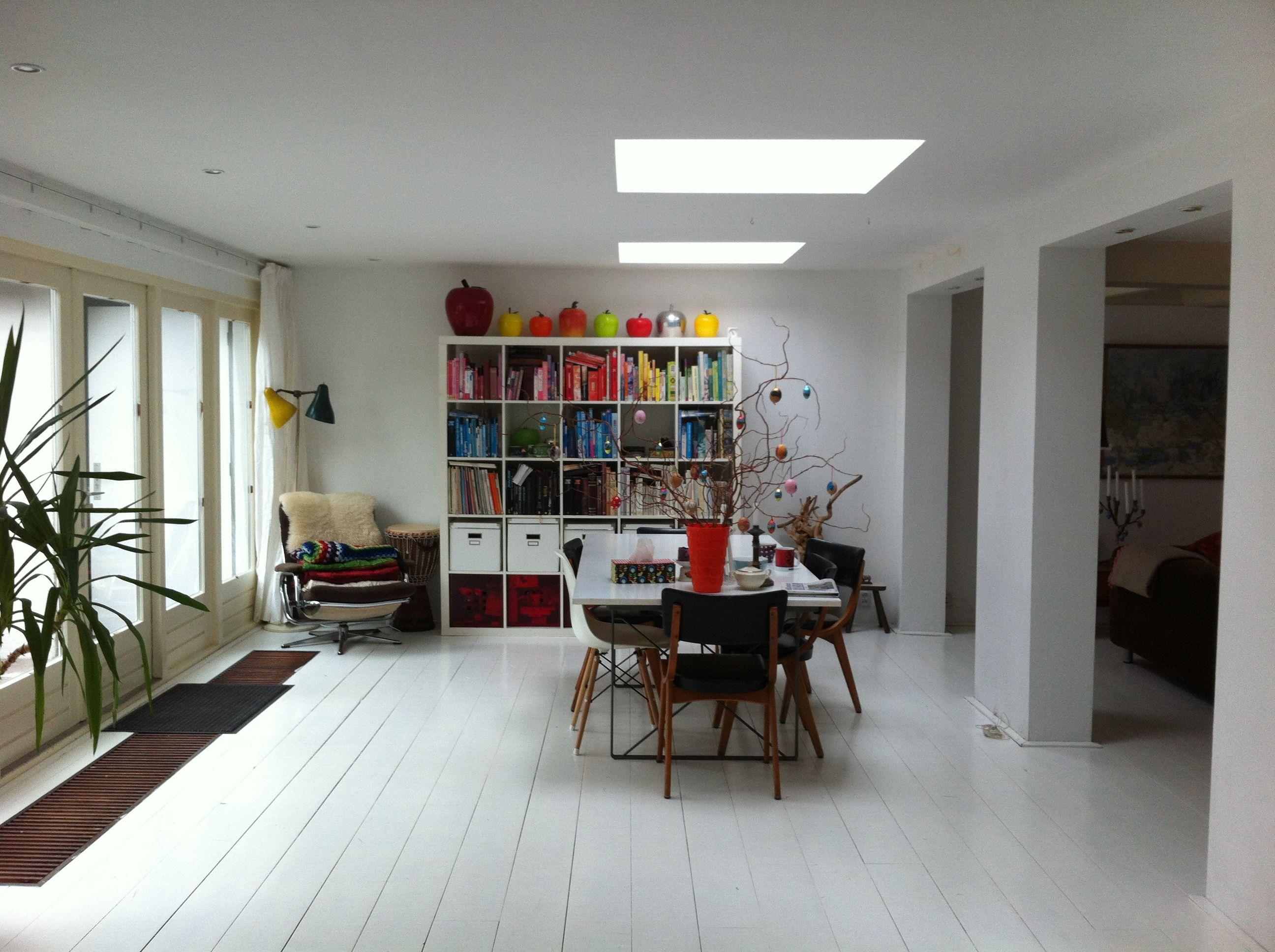 Ziehier ons lichte gezellige huis, met een mix van oud en