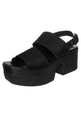 Vagabond Lindi Sandaly Na Platformie Black Zalando Pl Sandalias Plataforma Sandalias Zapatos