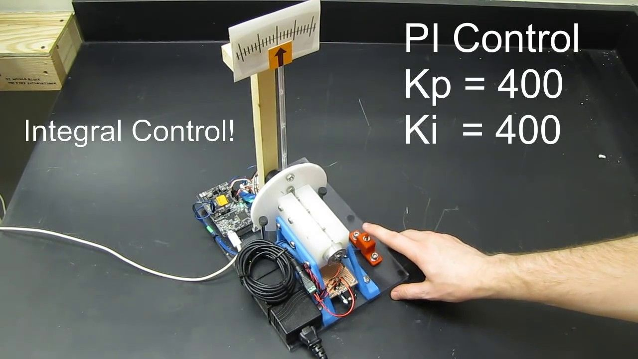 The Demonstration In This Video Will Show You The Effect Of Proportional Derivative And Integral Control On A Real System It Pid Controller Control Digital