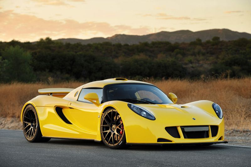 Hennessey Venom GT Quickest modified production car Twin