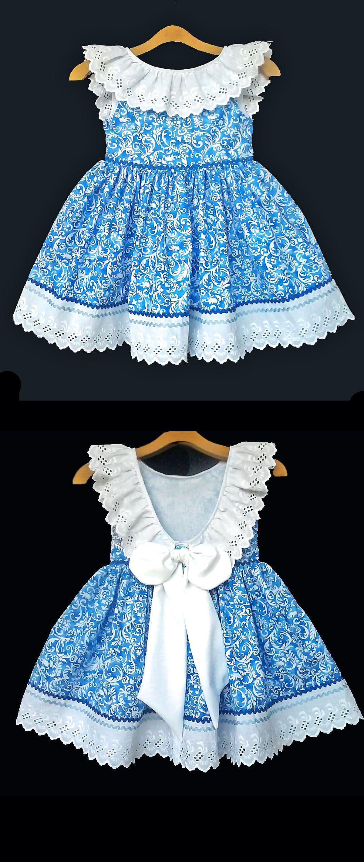 Lindo vestido   Skai   Pinterest   Nähen, Kinderkleidung und Mädchen