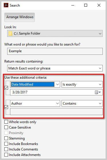 How to Search Multiple PDFs with Adobe Acrobat's Advanced Search