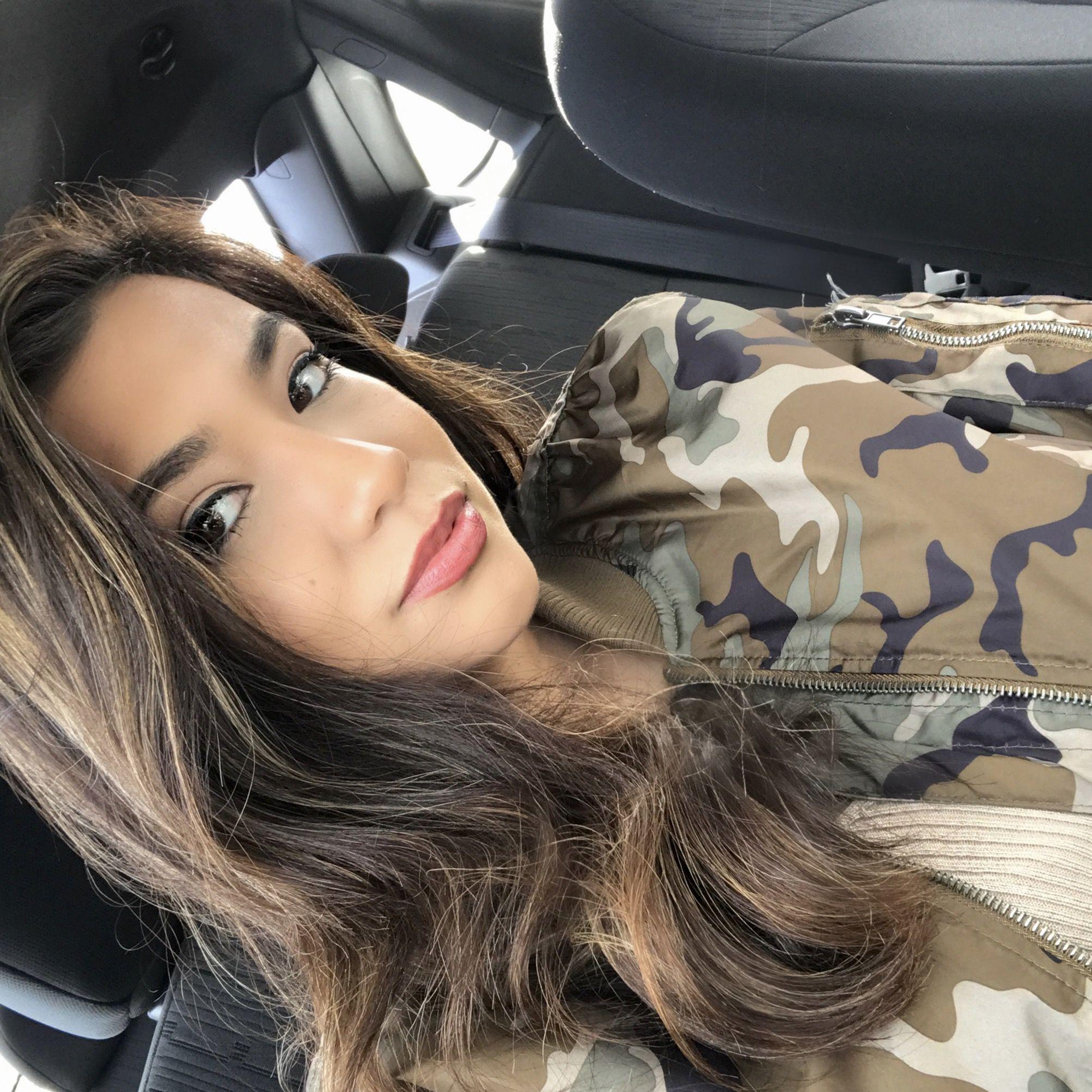 Carmel highlights Hair  Curly hair Straight