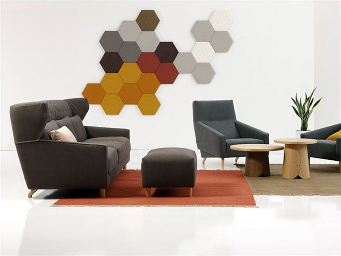 3D Wall Panel wall panel acoustical unction1