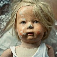 old doll.